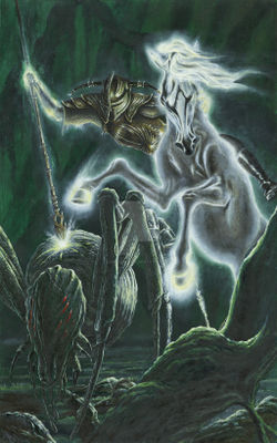 Kip Rasmussen - Orome Hunts the Monsters of Morgoth.jpg