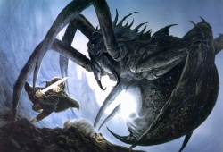 John Howe - Sam and Shelob.jpg