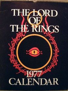 The Lord of the Rings 1977 Calendar.jpg