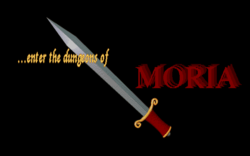 Dungeons of Moria (videogame) - opening screen.png