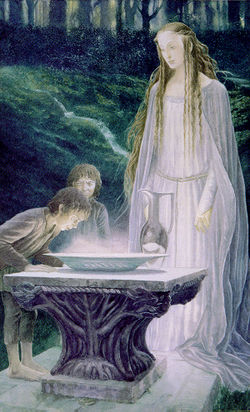 Alan Lee - The Mirror of Galadriel.jpg