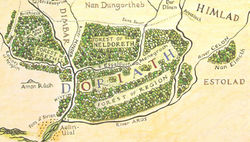 Christopher Tolkien - Map of Doriath.jpg