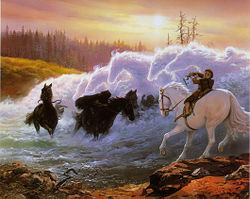 Ted Nasmith - At the Ford.jpg